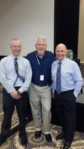 HPOU's Bob Armbruster (center) was instrumental in bringing Force Science Instructors Bill Everett (left) and Dr. Bill Lewinski to the Houston area for a conference highlighting the science behind officers' use of force and physiological and psychological reactions under high-stress conditions.